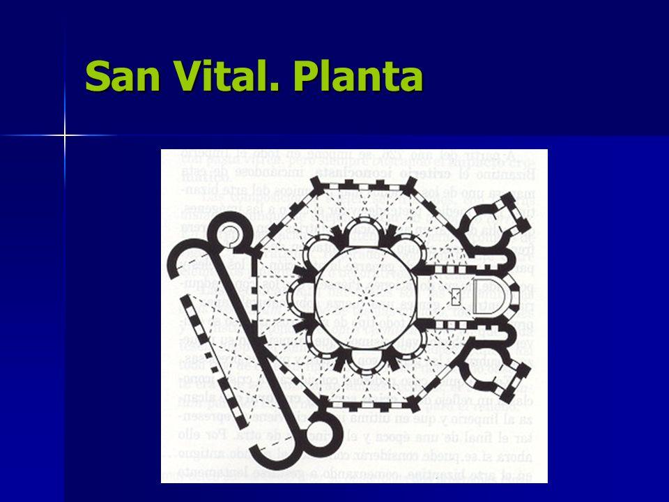 San Vital. Planta