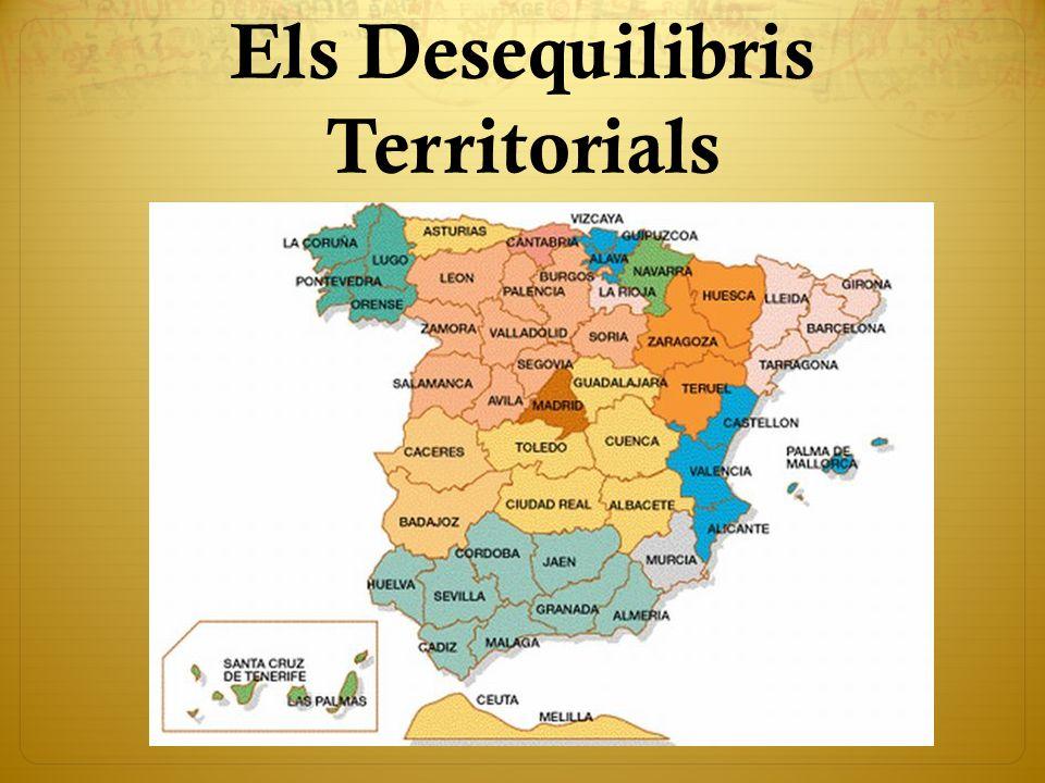 Els Desequilibris Territorials