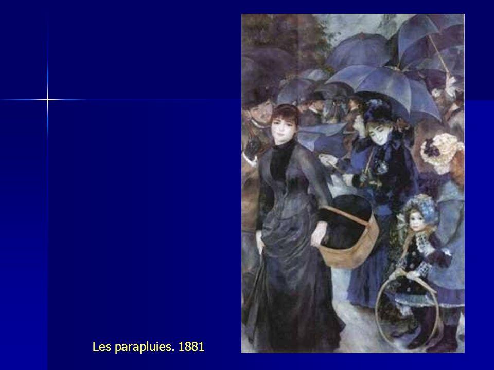 OTRAS FORMAS POSTIMPRESIONISTAS El fin del arabesco. 1878.