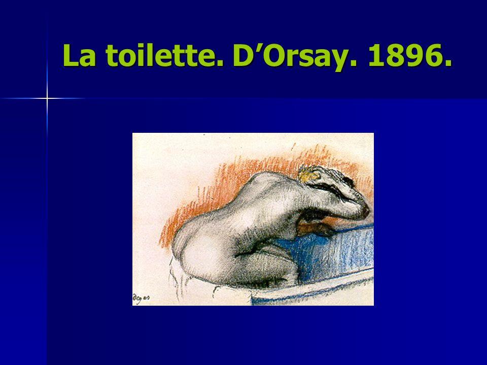 H.TOULOUSE-LAUTREC Varía totalmente la visión impresionista.