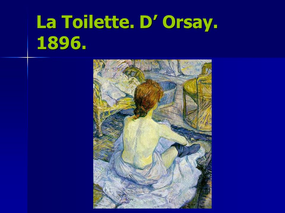 Solitaria. DOrsay. 1896.
