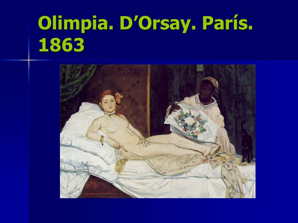 Olimpia. DOrsay. París. 1863