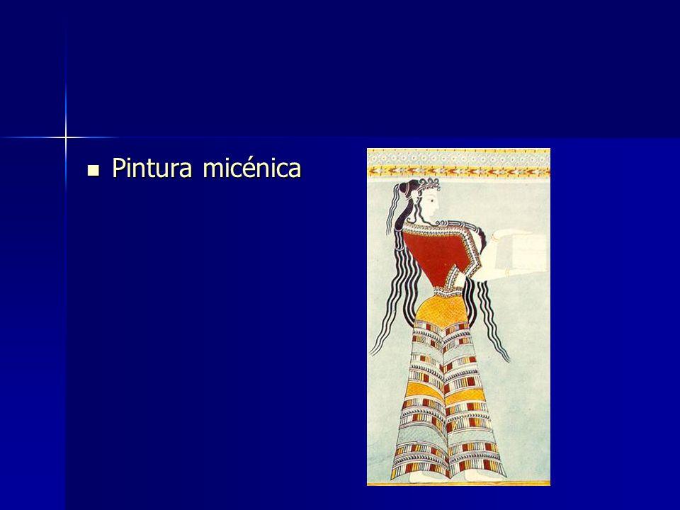 Pintura micénica Pintura micénica