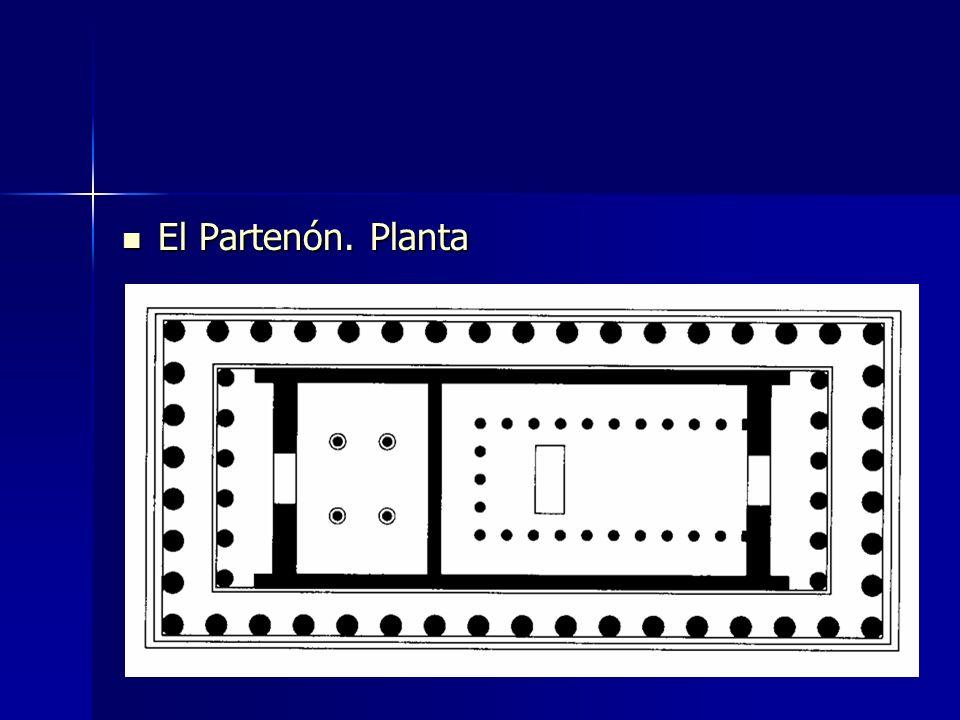 El Partenón. Planta El Partenón. Planta