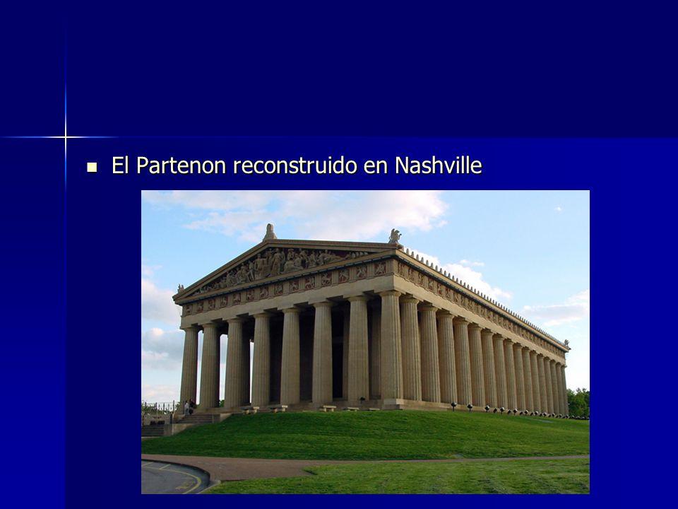 El Partenon reconstruido en Nashville El Partenon reconstruido en Nashville