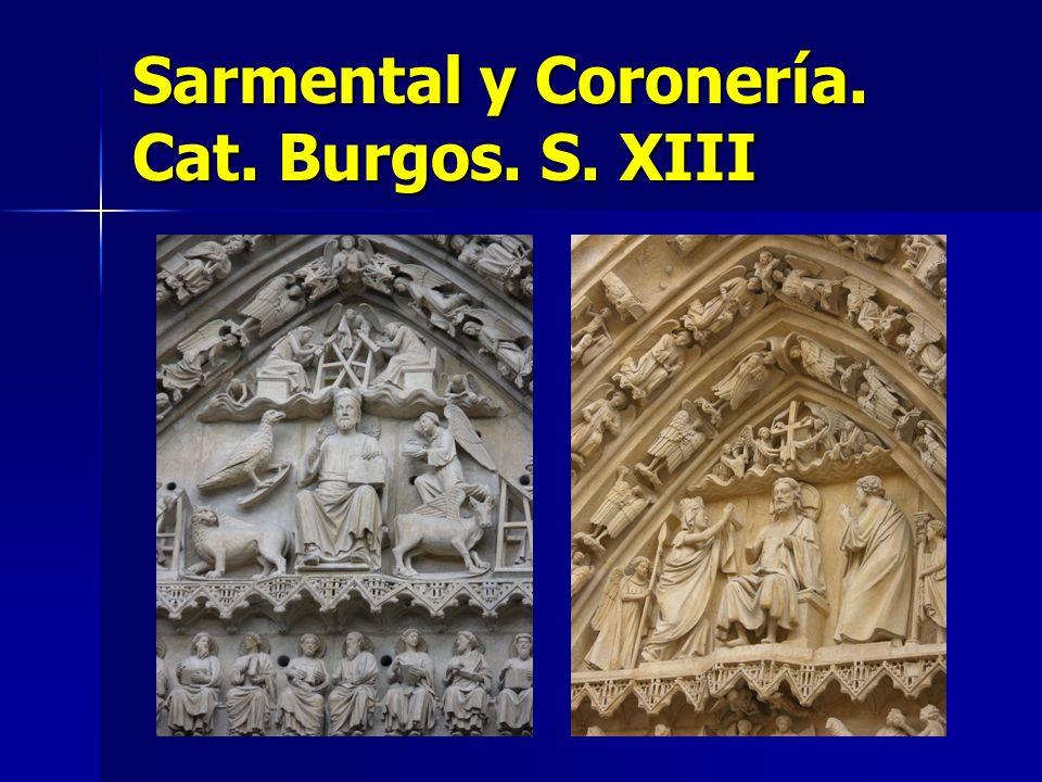 Sarmental y Coronería. Cat. Burgos. S. XIII