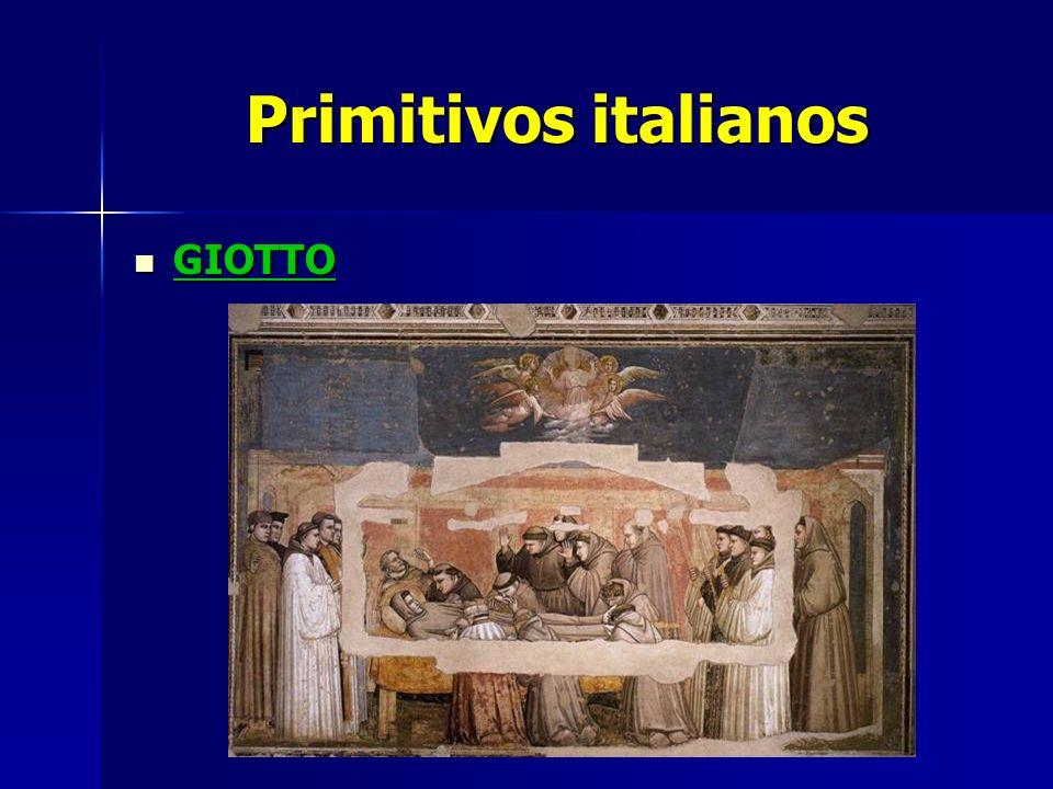 Primitivos italianos GIOTTO GIOTTO