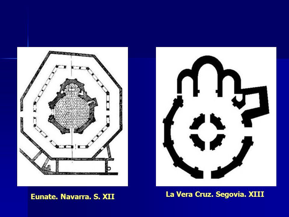 Eunate. Navarra. S. XII La Vera Cruz. Segovia. XIII