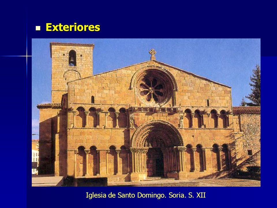 Exteriores Exteriores Iglesia de Santo Domingo. Soria. S. XII