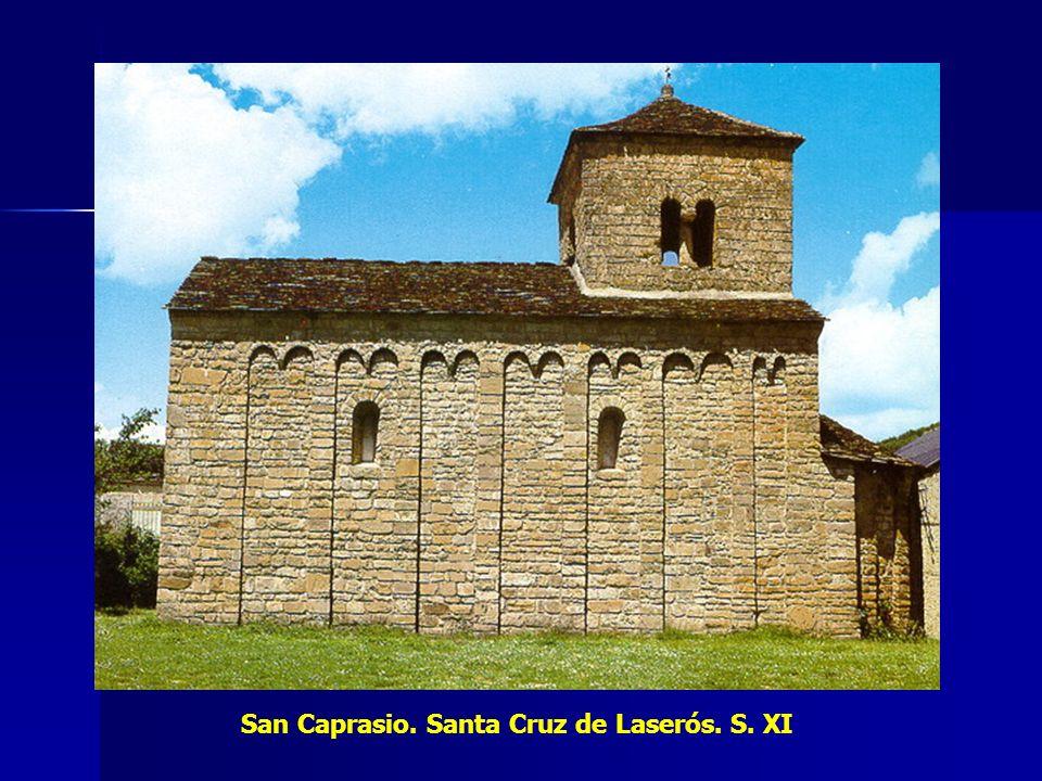 San Caprasio. Santa Cruz de Laserós. S. XI