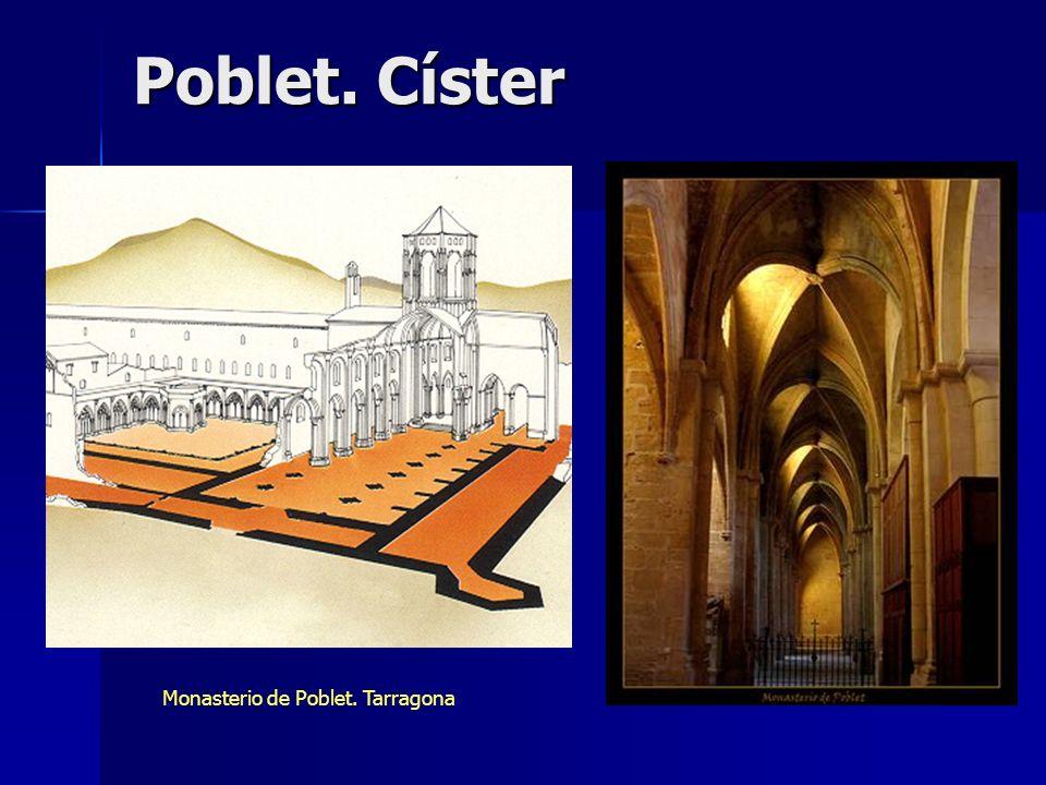 Poblet. Císter Monasterio de Poblet. Tarragona