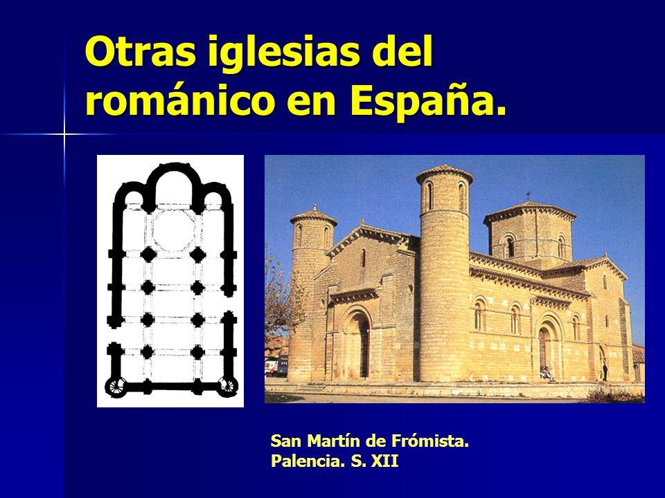 Otras iglesias del románico en España. San Martín de Frómista. Palencia. S. XII