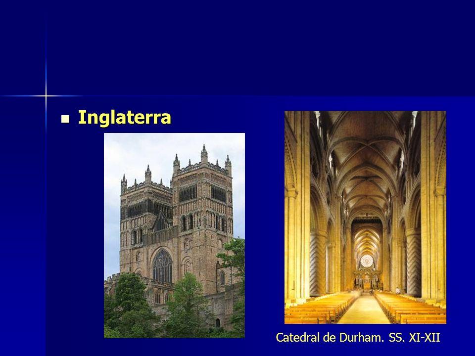 Inglaterra Inglaterra Catedral de Durham. SS. XI-XII