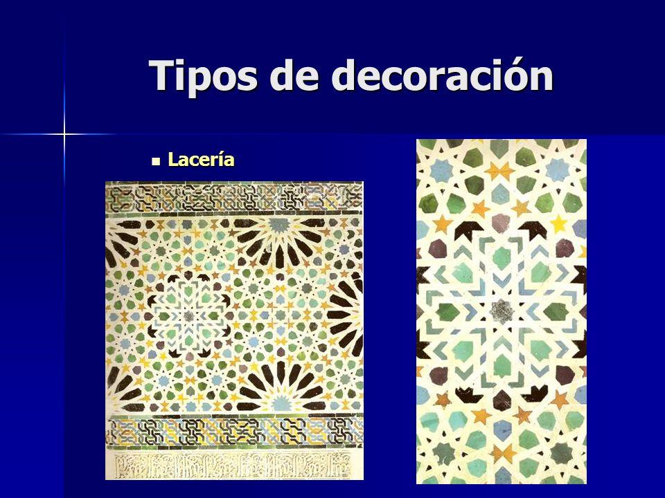 Tipos de decoración Lacería Lacería