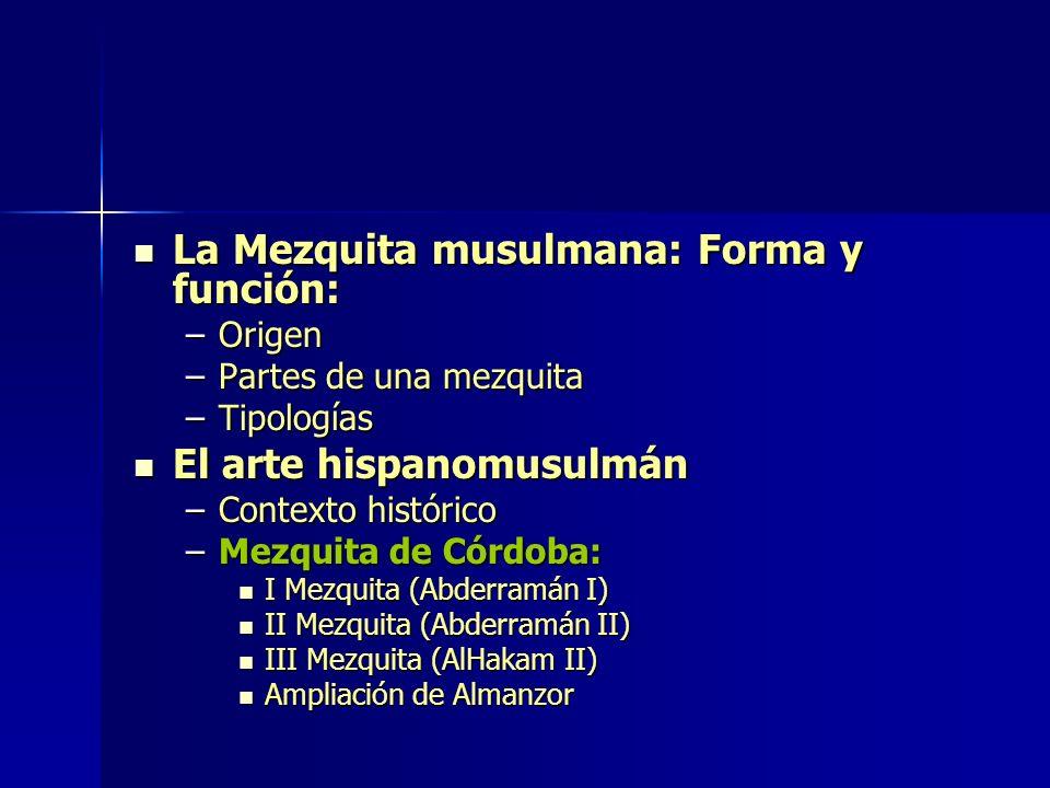 Cúpula de la Roca. Jerusalén. S. VII Mezquita de Planta centralizada
