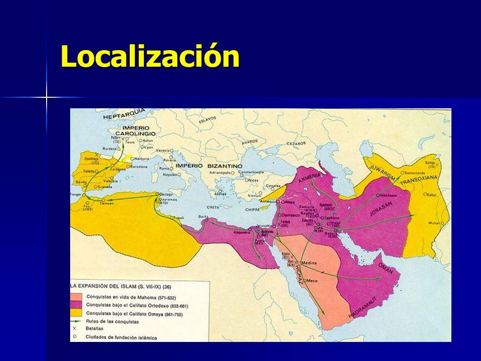 Periodización El origen de la cultura musulmana.Mahoma.
