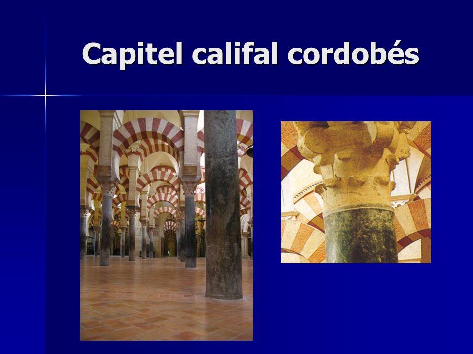 Capitel califal cordobés