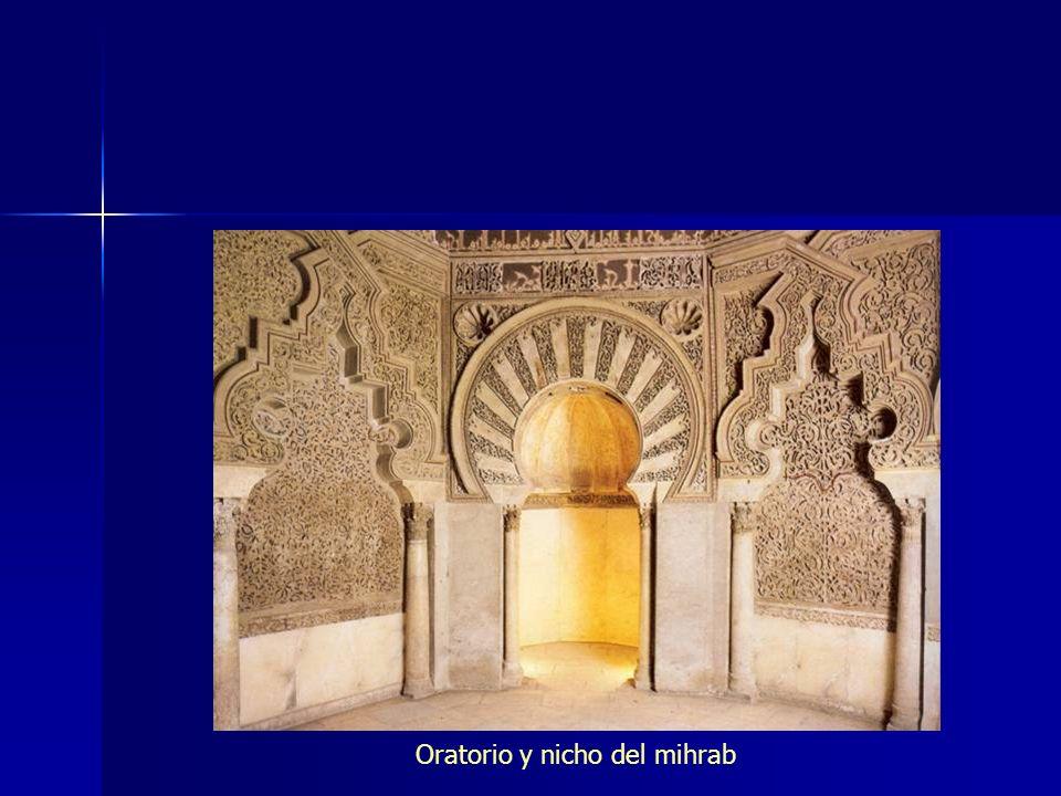 Oratorio y nicho del mihrab