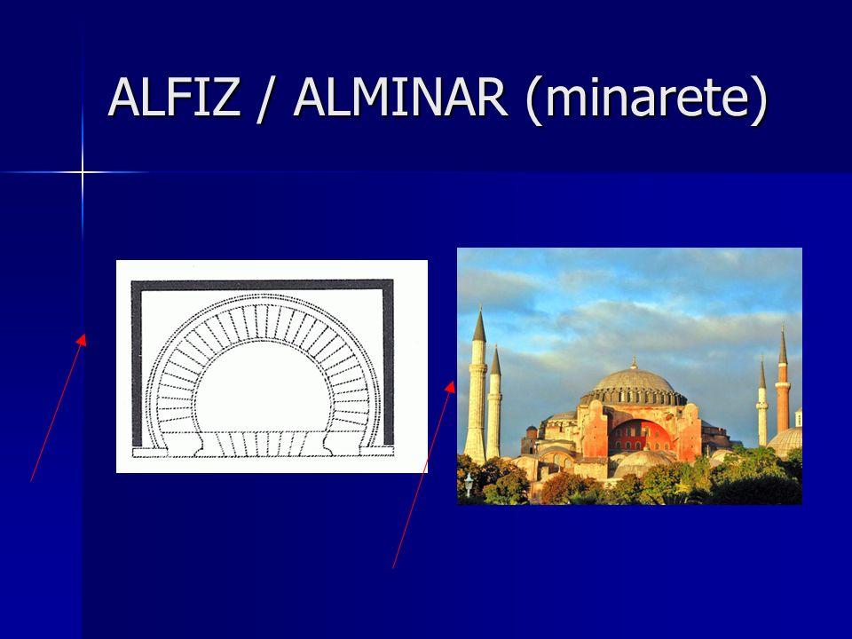 ALFIZ / ALMINAR (minarete)