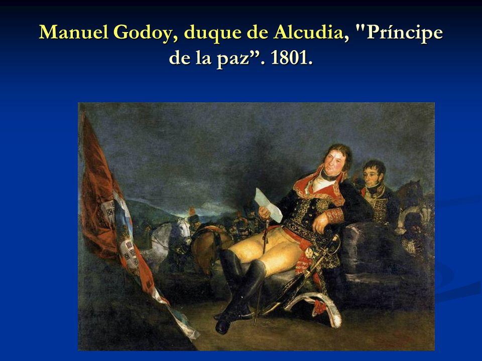 Manuel Godoy, duque de Alcudia,