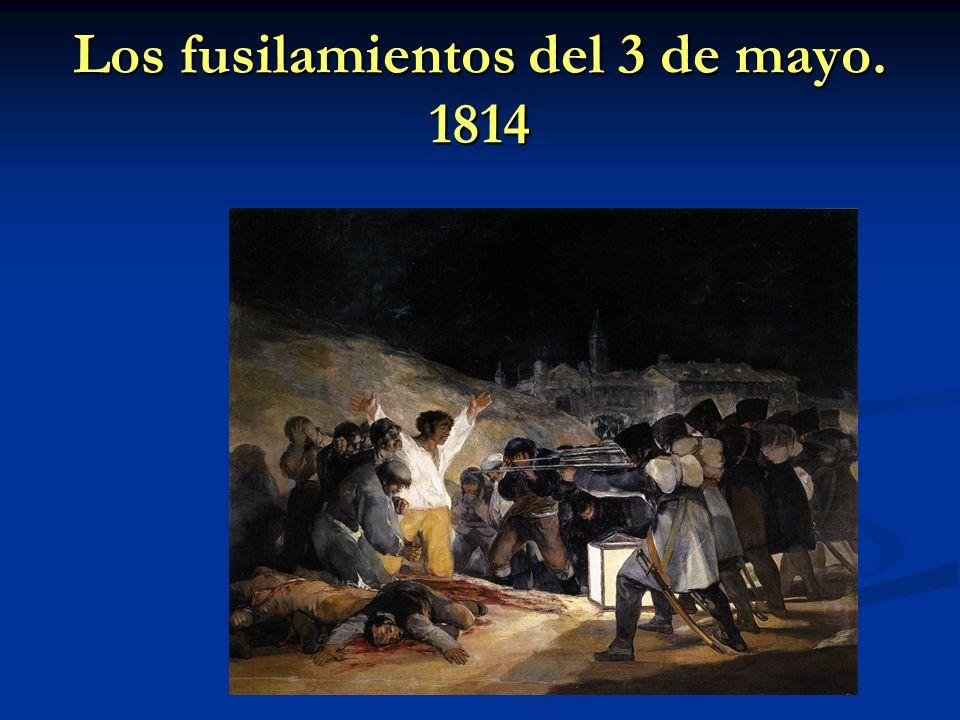 Los fusilamientos del 3 de mayo. 1814