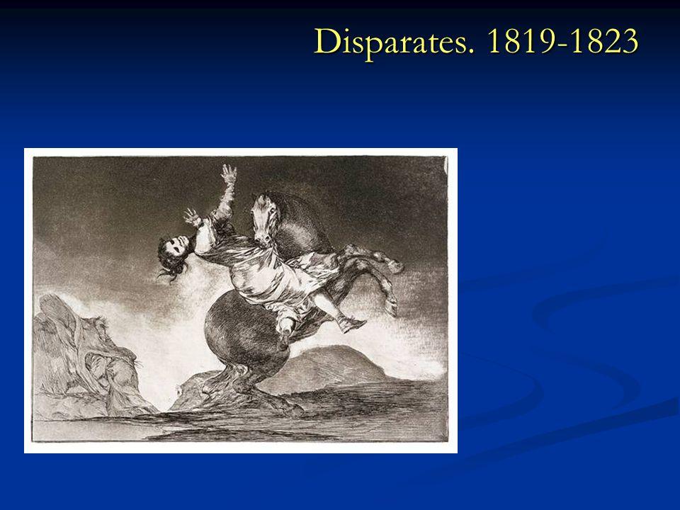 Disparates. 1819-1823