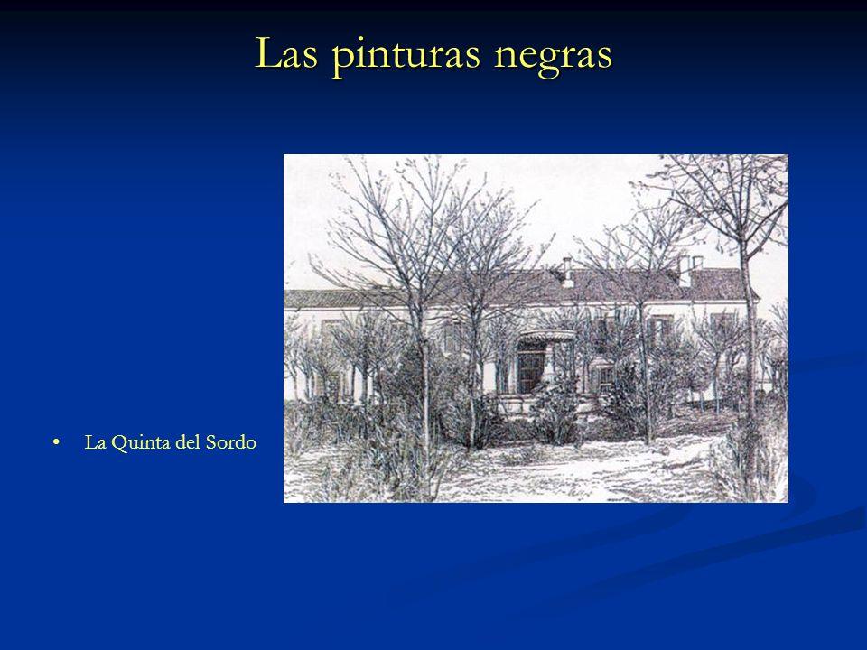 Las pinturas negras La Quinta del Sordo