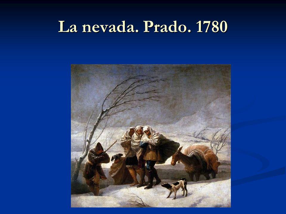 La nevada. Prado. 1780