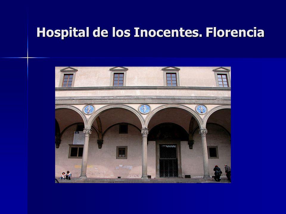 Hospital de los Inocentes. Florencia