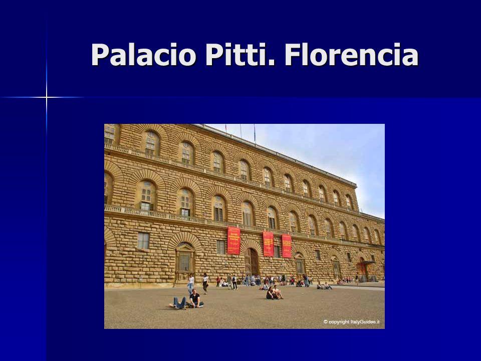 Palacio Pitti. Florencia