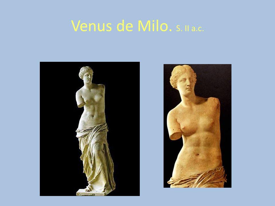 Venus de Milo. S. II a.c.