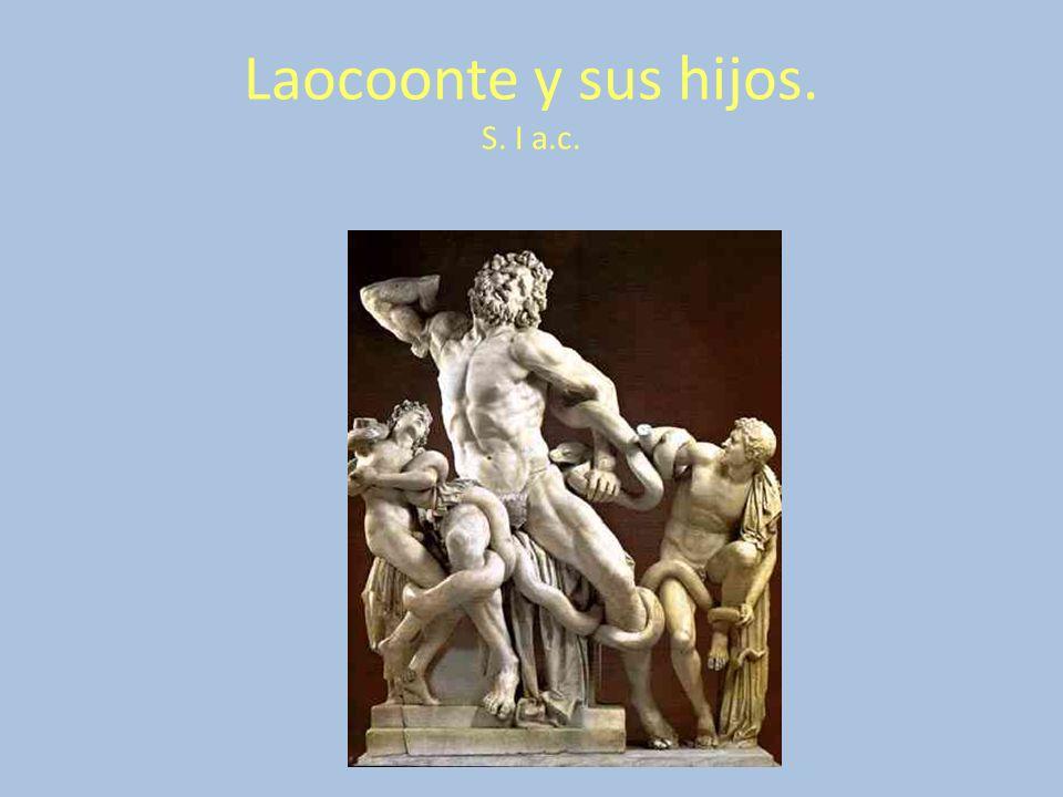 Laocoonte y sus hijos. S. I a.c.