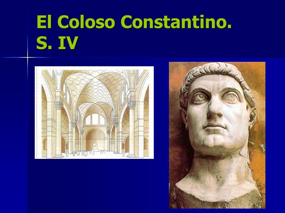 El Coloso Constantino. S. IV