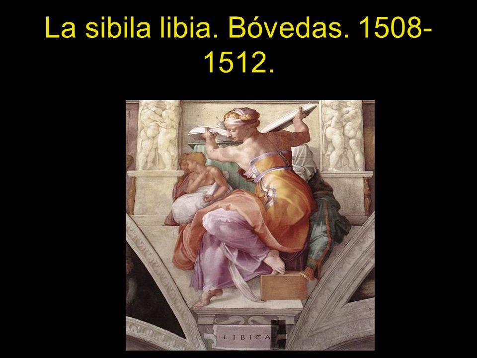 La sibila libia. Bóvedas. 1508- 1512.