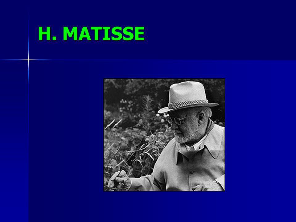 H. MATISSE