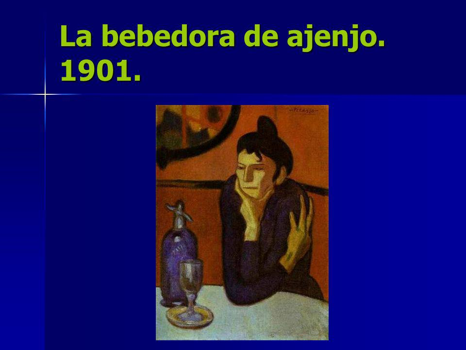La bebedora de ajenjo. 1901.