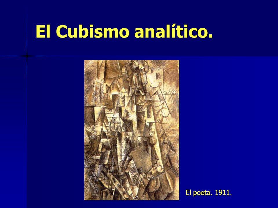 El Cubismo analítico. El poeta. 1911.