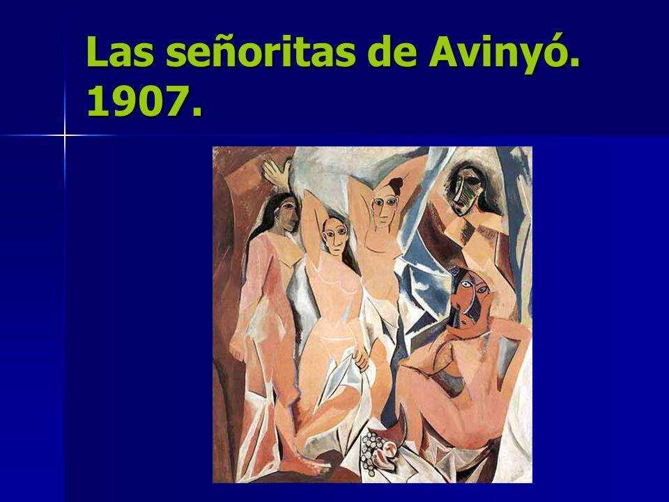 Las señoritas de Avinyó. 1907.