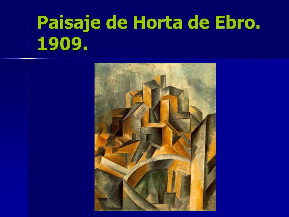Paisaje de Horta de Ebro. 1909.