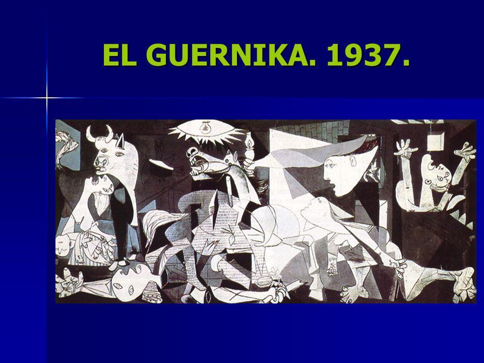 EL GUERNIKA. 1937.