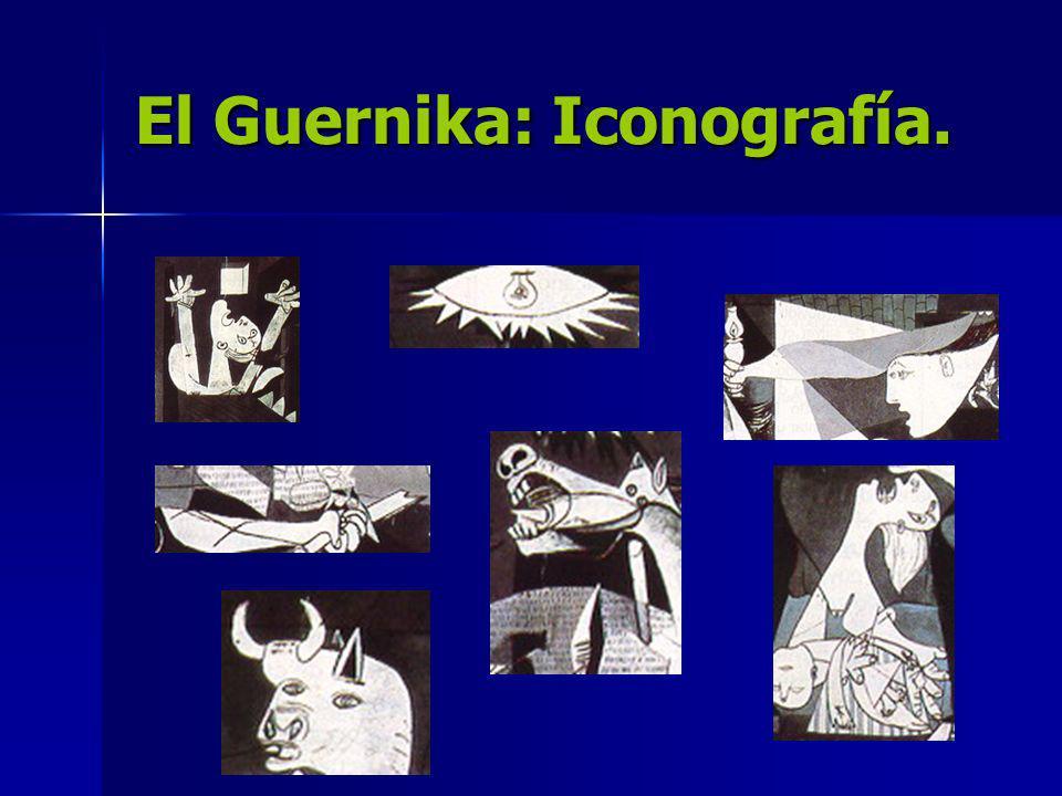 El Guernika: Iconografía.