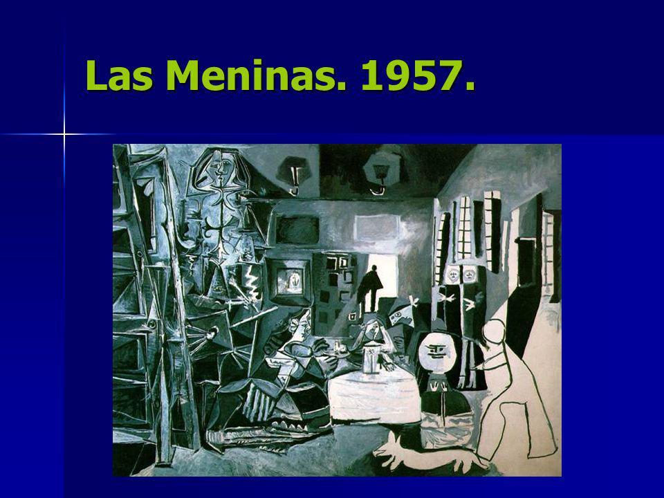Las Meninas. 1957.