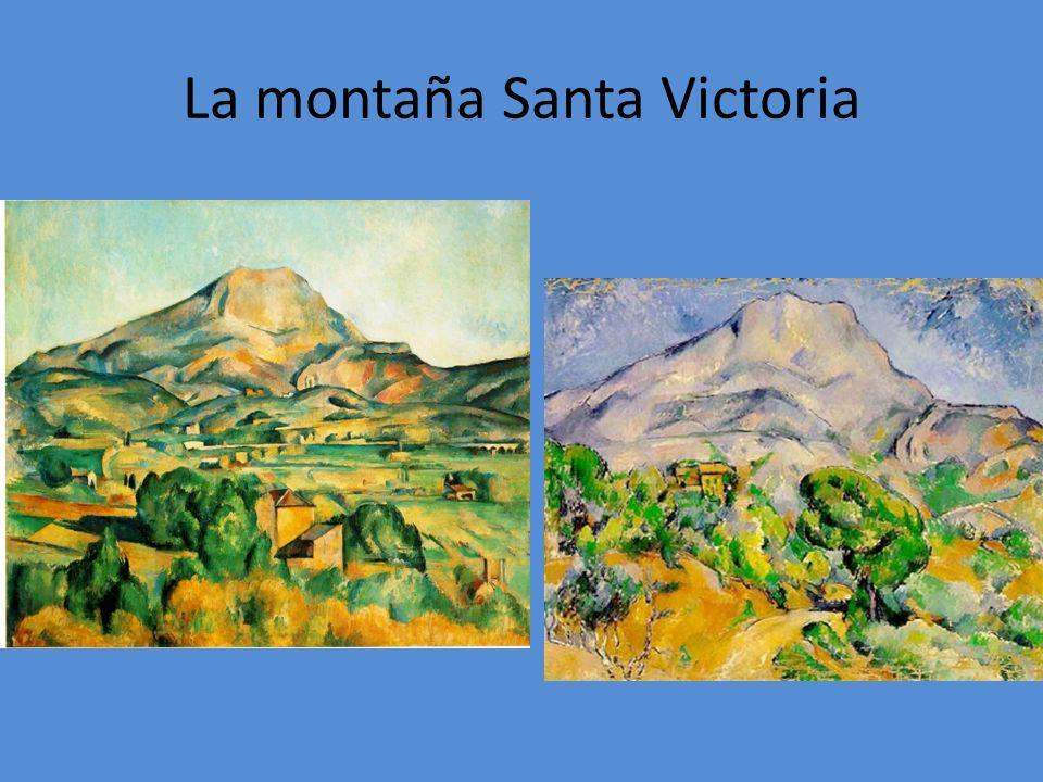 La montaña Santa Victoria