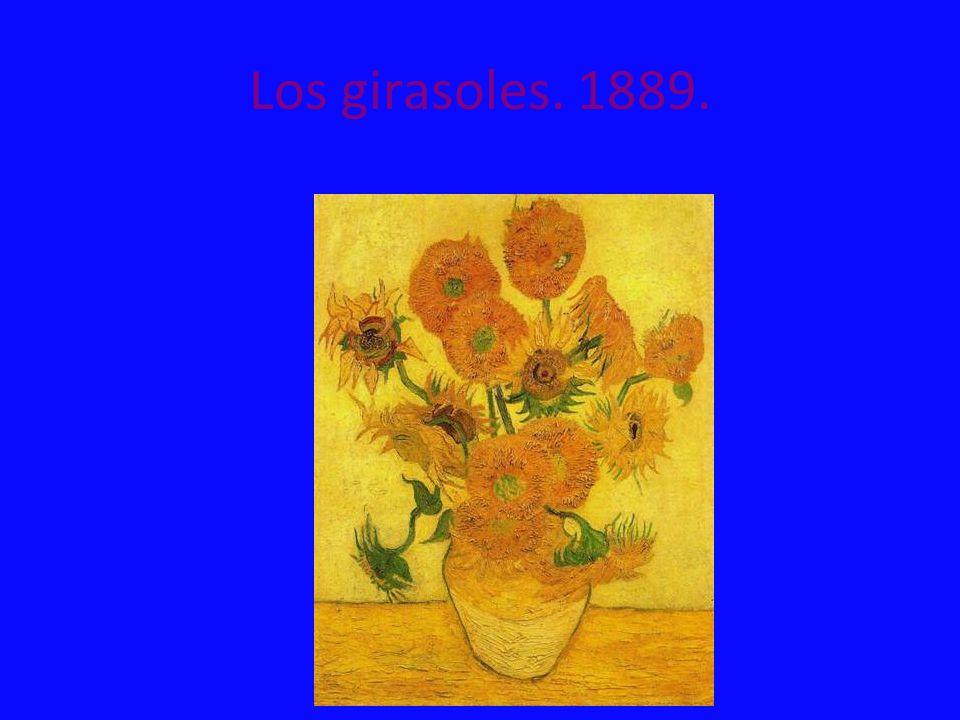 Los girasoles. 1889.