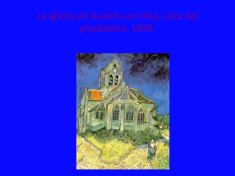 La iglesia de Auvers-sur-Oise, vista del presbiterio. 1890.