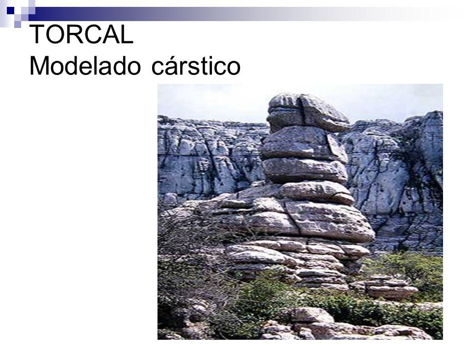TORCAL Modelado cárstico