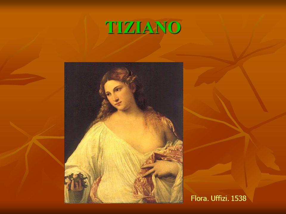 TIZIANO VECELLIO Madonna con santos y Madonna con santos y la familia Pesaro.