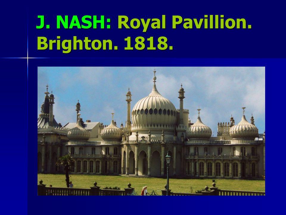 J. NASH: Royal Pavillion. Brighton. 1818.