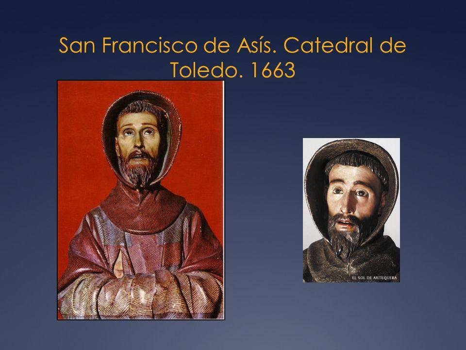 San Francisco de Asís. Catedral de Toledo. 1663