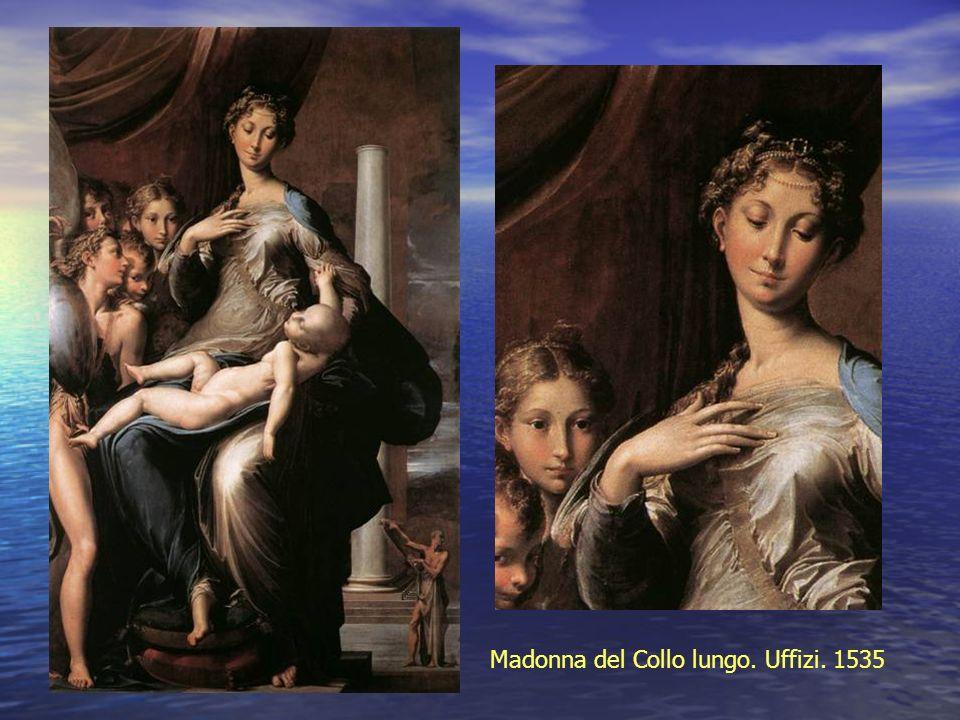 Madonna del Collo lungo. Uffizi. 1535